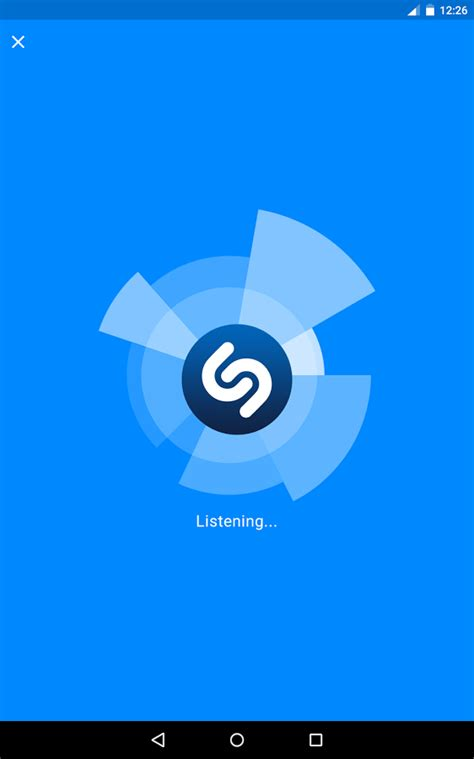 shazam app android shazam screenshot