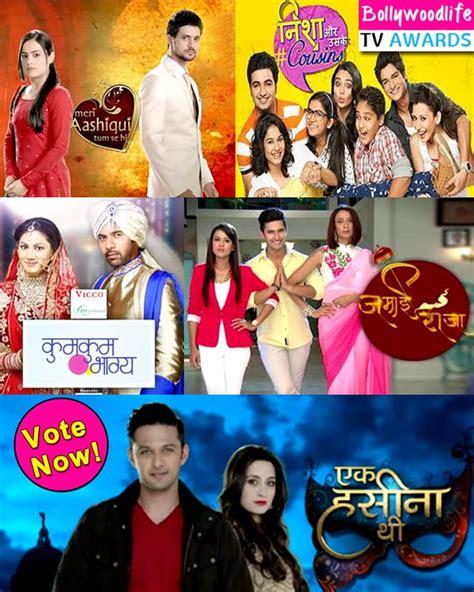 Shows New Do At The Awards by Bollywoodlife Tv Awards 2015 Kumkum Bhagya Nisha Aur