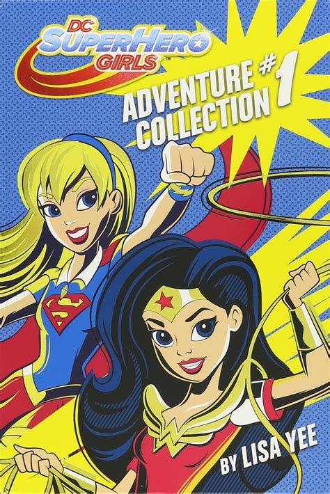 libro dc super heroes the 161 dc super hero girls blog pack de libros adventure collection 1 de dc super hero girls