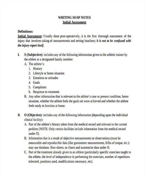 soap documentation template 14 soap note exles pdf