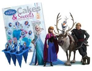 Disney frozen cakes amp sweets crafts amp cooking eaglemoss