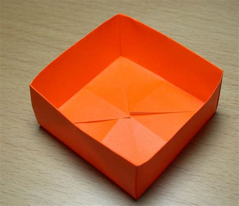 how to make a box out of card template origami forma facil y divertida de hacerlo taringa