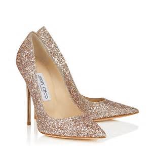 Jimmy Choo **** shadow course, glitter ANOUK pumps