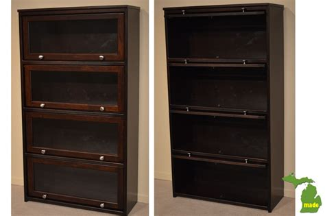 Amish Office Furniture Jasens Furniture Barrister Bookcases With Glass Doors