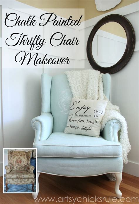 diy chalk paint for upholstery painted upholstered chair makeover chalk paint artsy