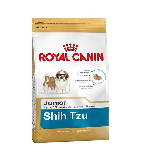 royal canin shih tzu junior royal canin shih tzu junior
