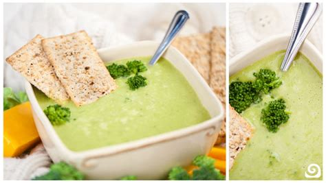 vitamix broccoli cheese soup recipe broccoli cheddar soup recipe vegetables dr oz and salts