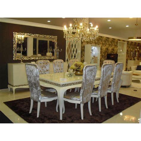 Beau Ensemble Meuble Salon Salle A Manger #4: salle-a-manger-de-luxe-argent.jpg