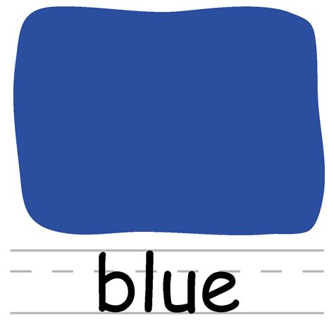 words clipart the word blue clipart