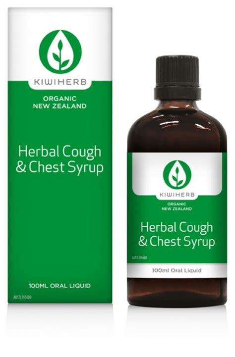 Detox Cough Syrup by Kiwiherb Herbal Cough Chest Syrup