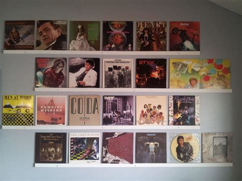 hang up your vinyl records