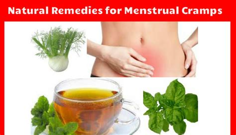 dig out some of the best remedies for menstrual crs