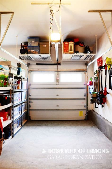organizing the garage practical and comfortable garage organization ideas 18