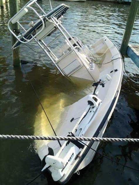 sinking wake boat keeping your boat afloat seaworthy magazine boatus