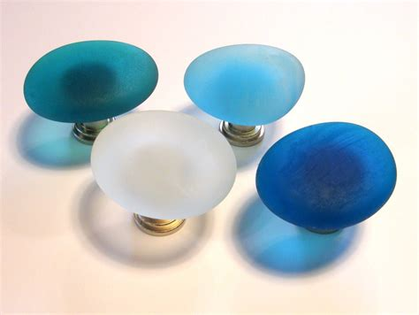 Sea Glass Cabinet Knobs by Glass Knobs Sea Decor Cabinet Knobs Drawer By