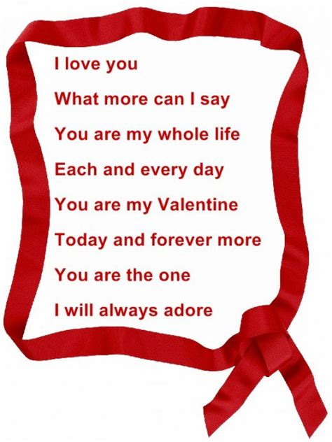 valentines poem poems and quotes quotesgram