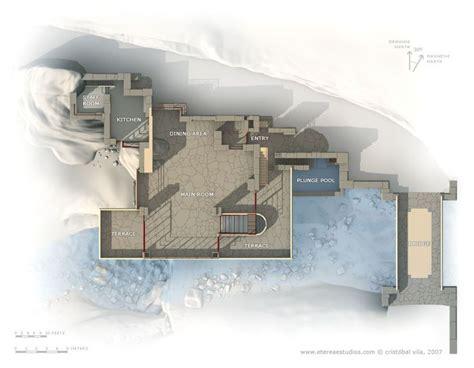 casa sulla cascata pianta 812 best frank lloyd wright images on