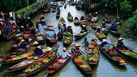 floating boat market floating market of thailand xcitefun net