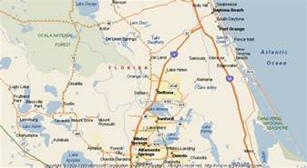 Map Of Orange County Florida by Map Of Orange City