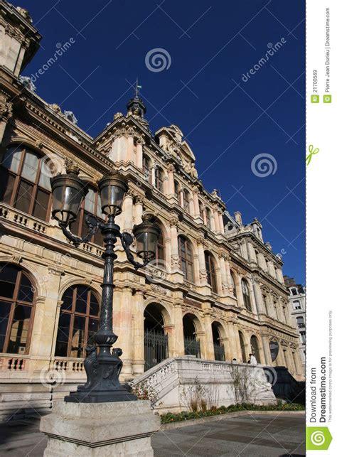 chambre de commerce et d industrie lyon palais de la bourse royalty free stock images image