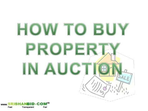 how to buy house auction how to buy property in auction