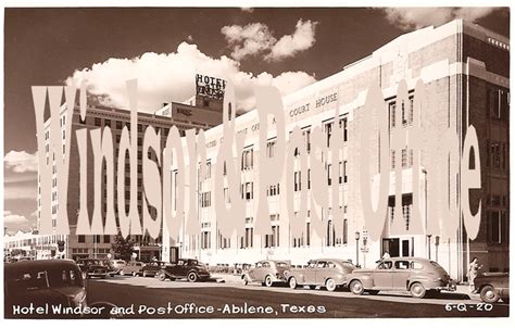 Post Office Abilene Tx by Collection Of Early Abilene