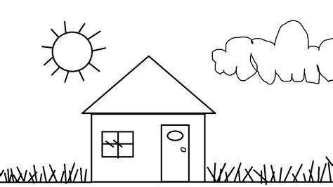 small house coloring page universul copiilor imagini de colorat case