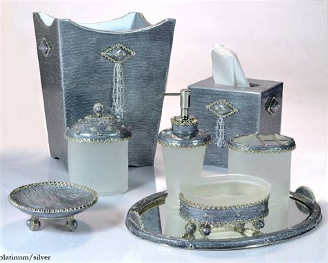 black and silver bathroom accessories sets sets gedy