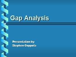 Gap Analysis Powerpoint Presentation Ppt Gap Analysis Template Powerpoint