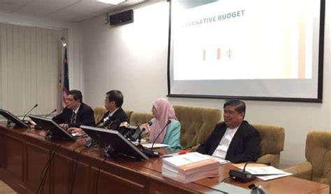 belanjawan pakatan rakyat 2015 belanjawan malaysia 2018 pakatan harapan berita semasa