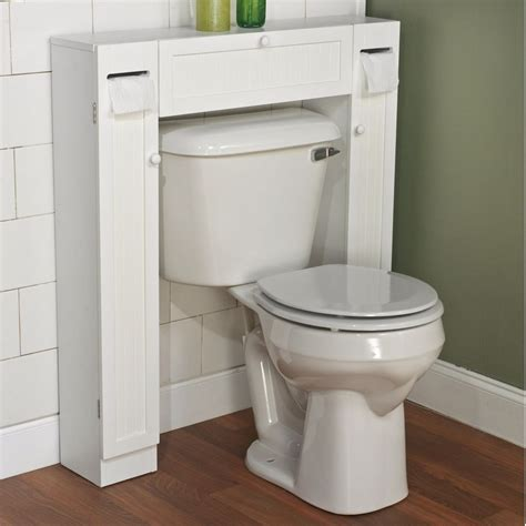 Bathroom Toilet Cabinet The Toilet Space Saver Furniture Paper Holder Cabinet Shelves White Modern Ebay