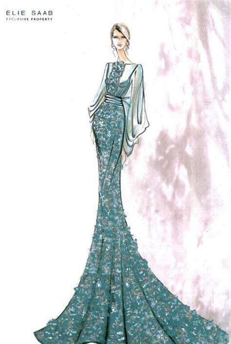 fashion illustration elie saab elie saab sketches fashion templates