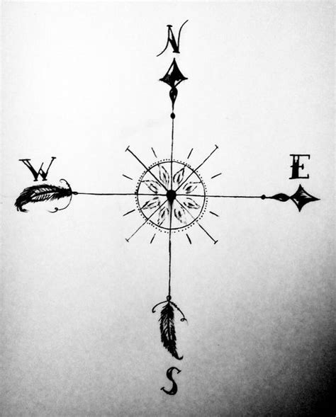 compass tattoo true north best 20 simple compass tattoo ideas on pinterest simple