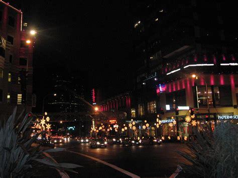 bellevue wa bellevue square christmas lights photo