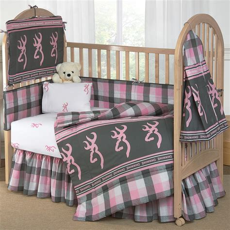 plaid crib bedding buckmark plaid pink gray crib bedding