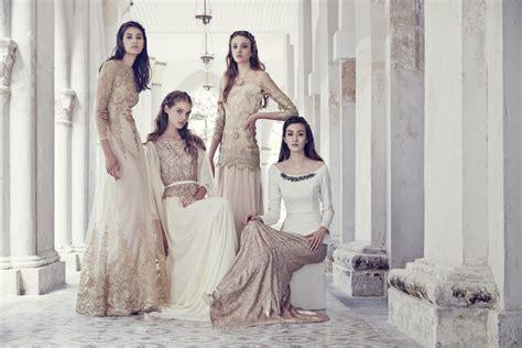 Zalora Baju Putih fesyen raya glamor dengan koleksi zalia 2015 wanista