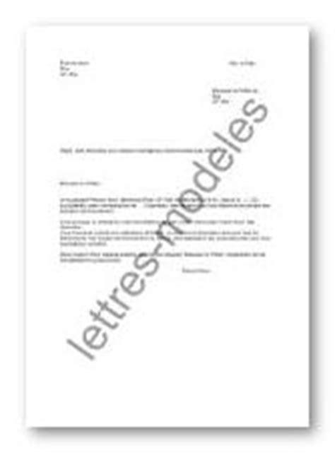 Modèle et exemple de lettres type : Au préfet - aide