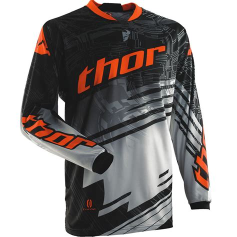 youth thor motocross thor 2014 phase s14 youth swipe junior mx race shirt