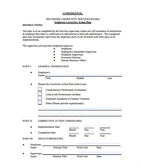 sle employee action plan 12 documents in pdf