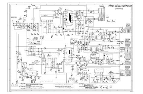 Sharp Television Free Schematic sharp lc32sh20u power schematic sch service manual schematics eeprom repair info for