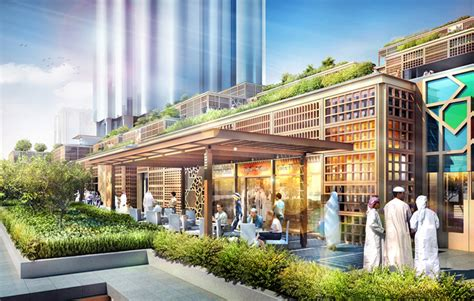 Big Tower Tiny Square foster partners aldar central market adds a vibrant