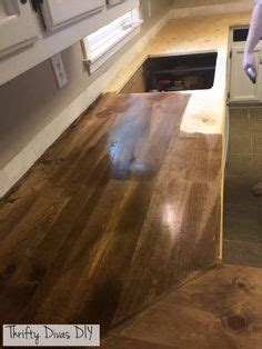 diy countertops   blow  mind concrete overlay countertops  butcher block
