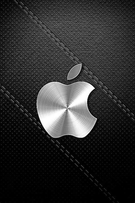 black apple logo iphone  hd lock screen wallpapers hd