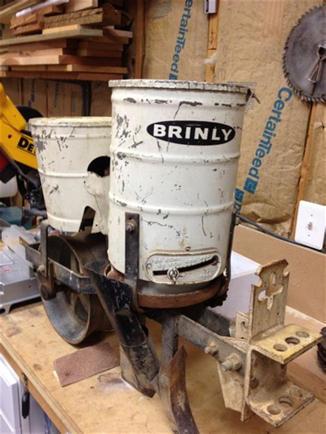 Brinly Planter by Brinly One Row Planter Help Yesterday S Tractors