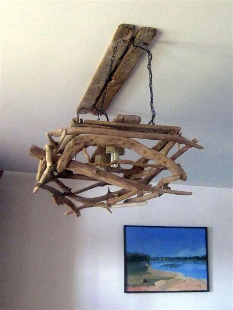 model de lustre bois flott 233 bricolage recup recyclage deco marine le