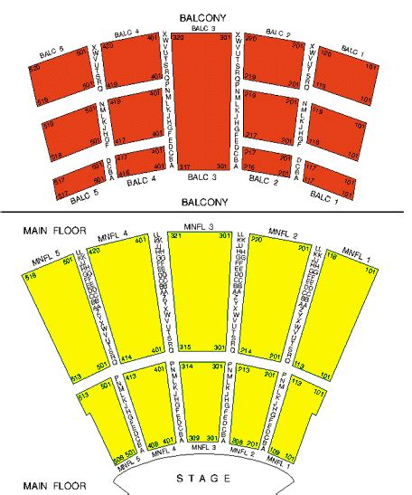 arie crown theater seating chart ticket solutions