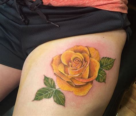 yellow rose tattoo ideas collection of 25 outline ship with yellow tattoos on leg