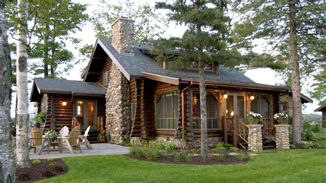 lake cabin plans bay lake lodge a h architecture