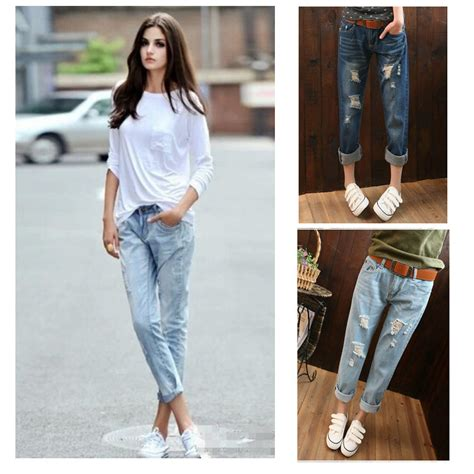 1950s fashions with rolled up jeans 2015 summer style women denim roll up cuffs pants retro