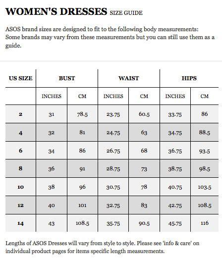 asos shoe sizing image gallery sizes asos